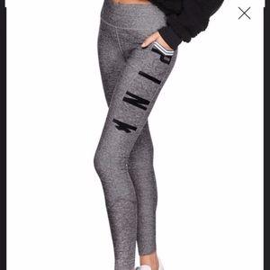 new VS Pink Ultimate Pocket Legging gray marled